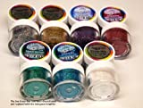 Rainbow Dust Sparkle Non Toxic Cake Glitter - Hologram Full Set of 7