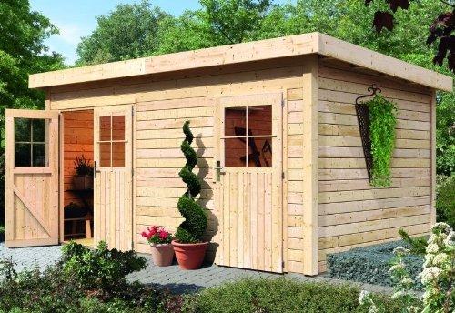 karibu gartenhaus mattrup 2 raum haus natur 28 mm jetzt kaufen. Black Bedroom Furniture Sets. Home Design Ideas