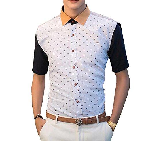 tobyak-mens-short-sleeved-button-down-printed-dress-shirt-lakebluechina-xxl-us-m-popular