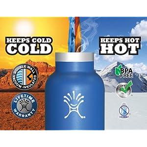 Hydro Flask Food Flask, Tahoe Blue, 12-Ounce