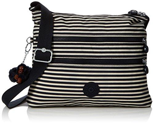 15x24x45 Kipling x cm Multicolor Stripy x L Alvar Marine Bolso H W Bandolera Mujer para qFwXrF8xn