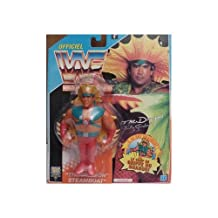 """WWF Real Wrestling Action Ricky """"The Dragon"""" Steamboat Action Figure"""