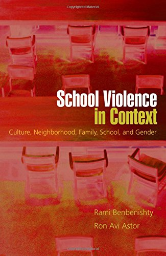 School Violence in Context: Culture, Neighborhood, Family, School, and Gender