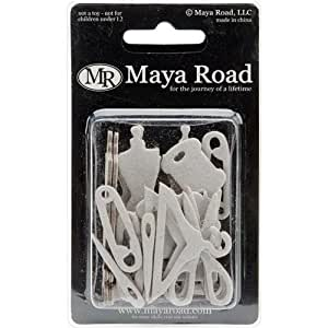 Maya Road Sew Cute Chipboard Set