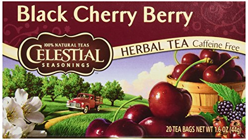 Celestial Seasonings Black Cherry Berry Tea, 20 ct