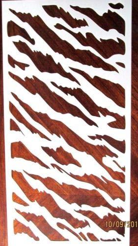 Amazon Tiger Stripes Large Stencil Template Reusable 10 Mil Mylar
