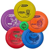 Driven Disc Golf 5 Disc Starter Set - Perfect for Beginners - Includes a FREE Mini Disc and a 100% Satisfaction Guarantee