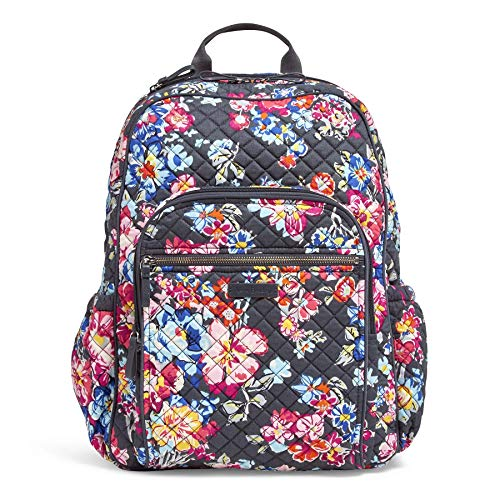 Vera Bradley Iconic Campus Backpack, Signature Cotton,