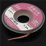 2.0 mm Desoldering Braid Solder Remover Wick Copper Spool Wire 0.75m