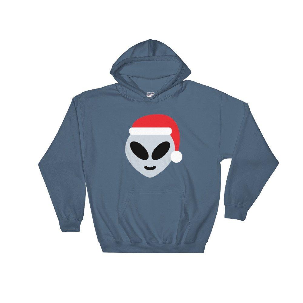 Gossip Rag santa claus alien emoji hoodie hoody Hooded Sweatshirt tshirt top shirt