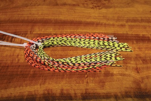 Fly Tying Material - Hareline Grizzly Barred Rubber Legs