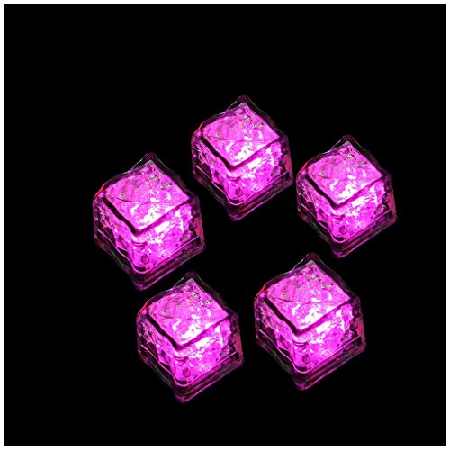 Reasoncool 1PC Constant Bright Glow LED Ice Cube Fluorescent Light Prop...