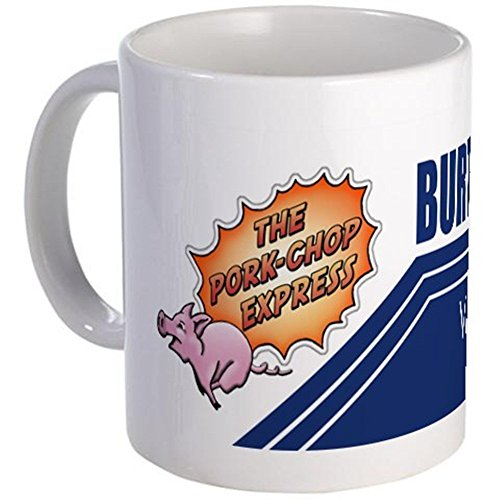 - 11 ounce Mug - Pork-Chop Express Mug - S White