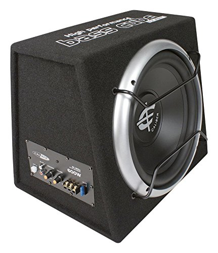 BC112SA Active Subwoofer Enclosure with Built In Amplifier and 12-Inch...