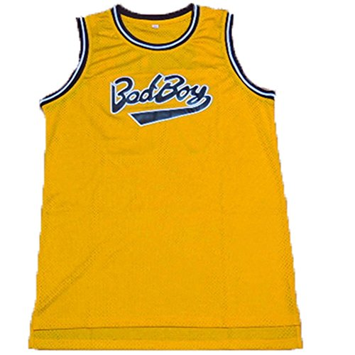 Movies (Bad Boy) No. 72 jersey Yellow-XXL