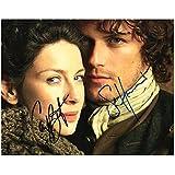 Outlander - Caitriona Balfe & Sam Heughan Signed Autographed A4 Photo Print Poster