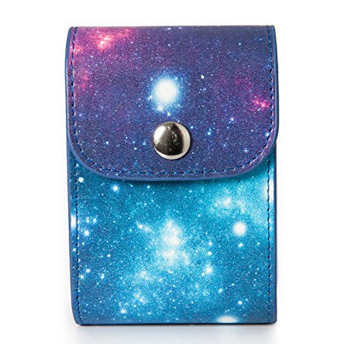 [Fujifilm Instax Mini Photo Case] - CAIUL Galaxy Starry Sky PU Leather Case Bag for Storaging Films and Photos Taken by Instax Mini 8 8+ 7s 70 90 25 26 50s (Re Mini Fan)