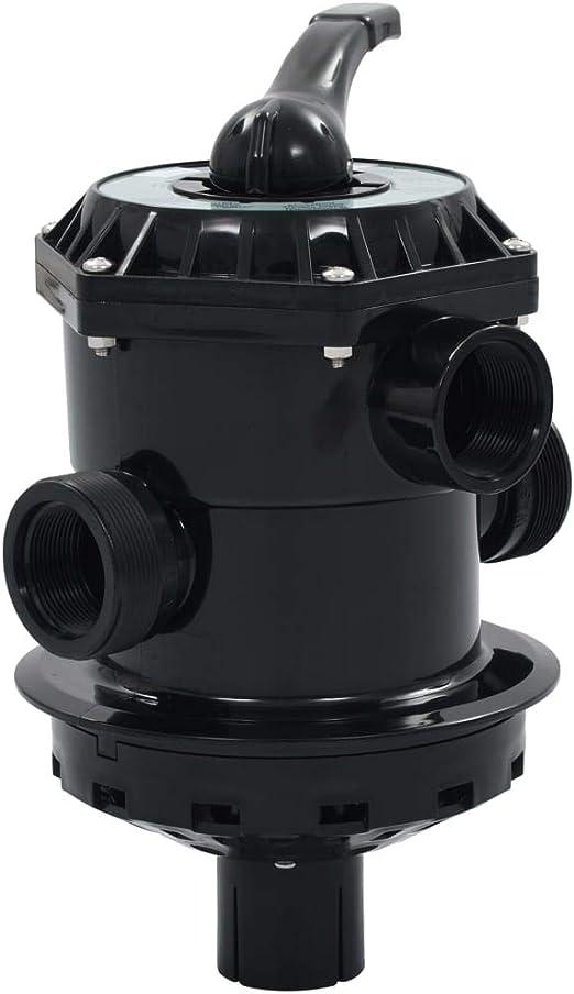 vidaXL Valvula Multipuerto para Filtro de Arena ABS 1,5