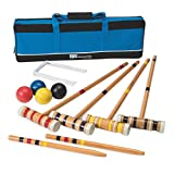 S&S Worldwide Recreational 4-Player Croquet Set