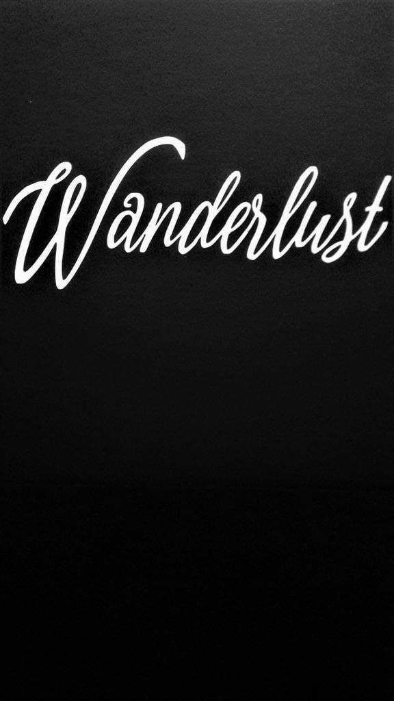 "Wanderlust Travel Explore Adventure Vinyl Decal Sticker White Cars Trucks Vans SUV Laptops Wall Art 7.5"" X 3"" CGS602"