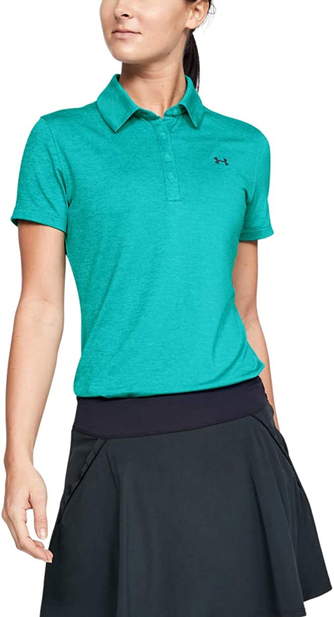 Under Armour Women's Zinger Short Sleeve Golf Polo best women's golf shirt