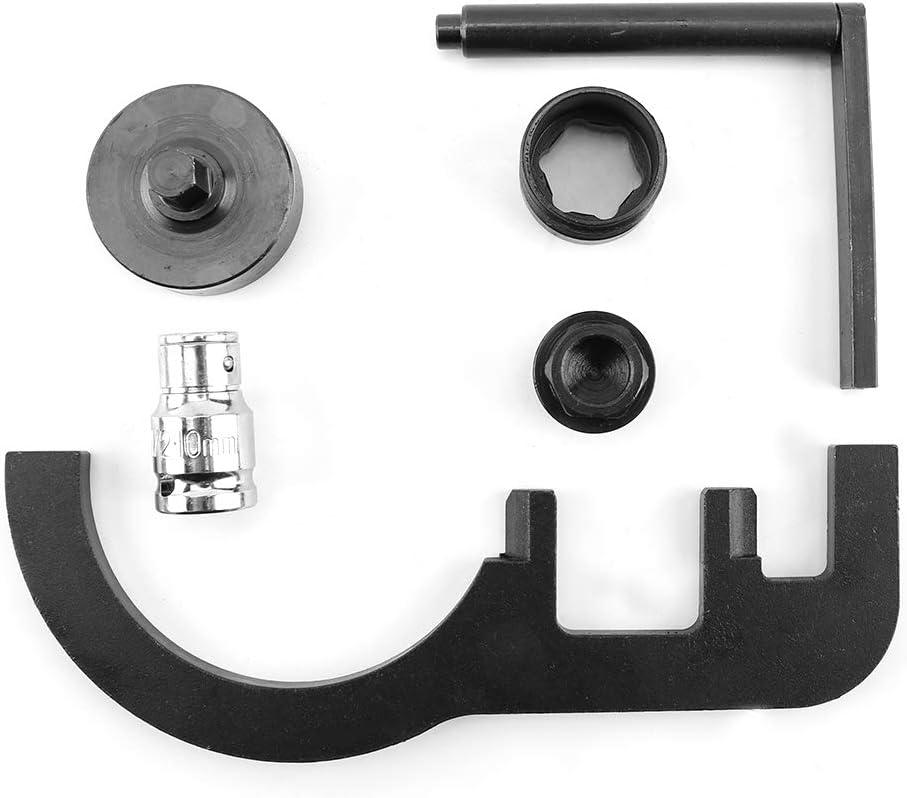 5pcs Engine Camshaft Timing Locking Tool Timing Tool Petrol Engine Locking Kit Set 116480 115320 118760 for N47 2007-10 Timing Locking Tool Set