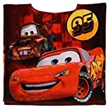 Disney Official Licensed Pixar Cars Kids Poncho Towel