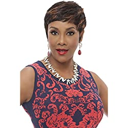 VIVICA A FOX NEW 100% PREMIUM HUMAN HAIR PURE STRETCH CAP WIG - CARITA (FS1B/30)