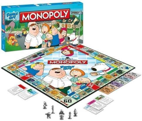 Monopoly Family Guy by USAopoly: Amazon.es: Juguetes y juegos