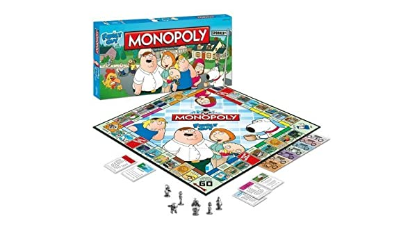 Monopoly Family Guy by USAopoly: Amazon.es: Juguetes y juegos