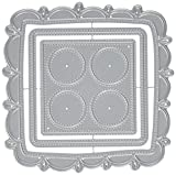 Waffle Flower Crafts Doily Square Waffle Flower Die