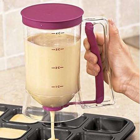 Wuudi - Dispensador de masa para tartas (900 ml): Amazon.es: Bricolaje y herramientas