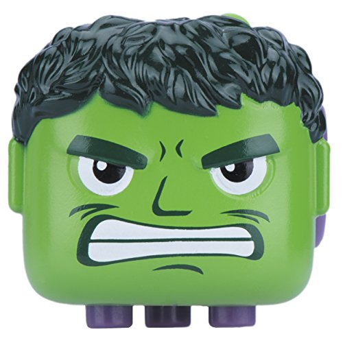 Incredible Hulk Candy (Antsy Labs Marvel Character Fidget Cube Hulk Design - Six Functional Sides w/ Anxiety Relief Stone)