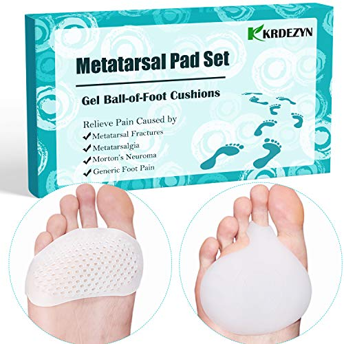 (Metatarsal Pads for Women and Men Ball of Foot Cushions for Foot Pain Relief)