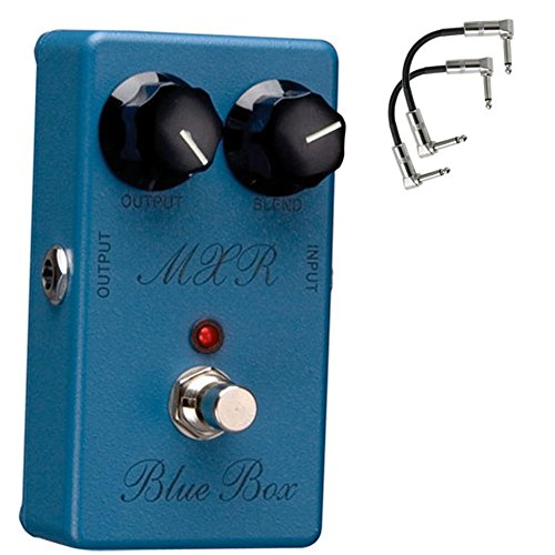 DUNLOP M103 MXR BLUE BOX with 2 patch cables by Jim Dunlop