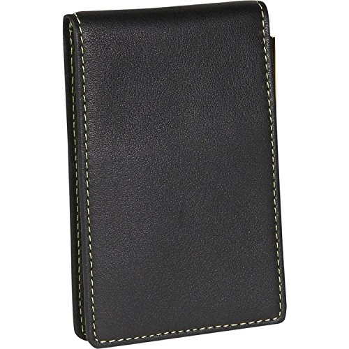 (Royce Leather Deluxe Flip Style Note Jotter - Black)