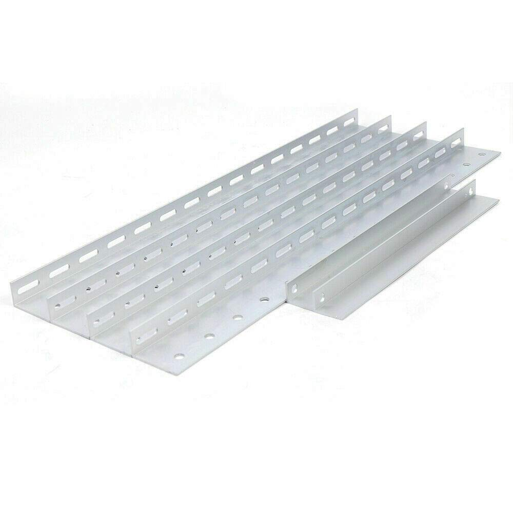 Solarhalterung Halterung Befestigung Modul Montage f/ür RV Solar Module Reihen Dachbefestigung Verstellbar 1040mm f/ür 300W