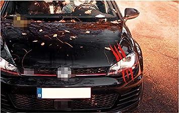 Yuhus Home Horror Thema Auto Aufkleber Reihe Roter Klarer Zombie Kratzer 35 85cm Nicht Einfach Grausamen Auto Aufkleber Der Mittleren Größe 1