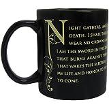 Game Of Thrones Tasse De La Garde De Nuit En Céramique
