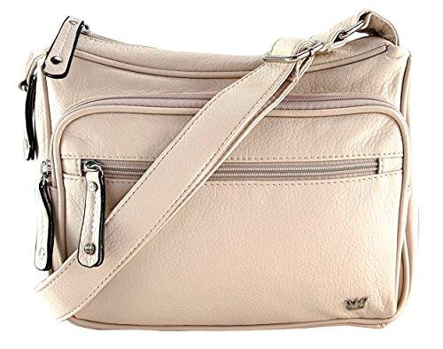 - Purse King Magnum Beige Concealed Carry Handbag