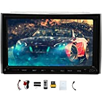 EinCar 7 inch Win 8 Car Stereo Digital Touch Screen DVD Player Support GPS Navigation Radio Bluetooth USB SD Automotive Multimedia Audio Video Player Head Unit
