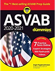 2020/2021 ASVAB For Dummies: Book + 7 Practice Tests Online + Flashcards + Video