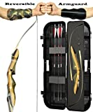 Spyder Takedown Recurve Bow - Ready 2 Shoot Archery Set | INCLUDES Bow, Instructions, Premium Carbon Arrows, Recurve Bow Case, Stringer Tool, Armguard, FREE GIFT | 60 lb RH -red