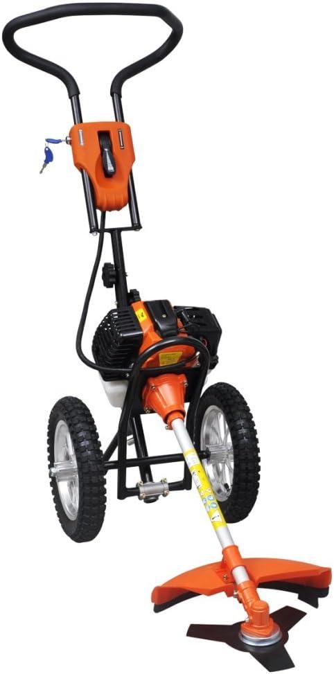 Ryobi-Desbrozadora con ruedas 2 tiempos 1, 9 KW: Amazon.es: Jardín