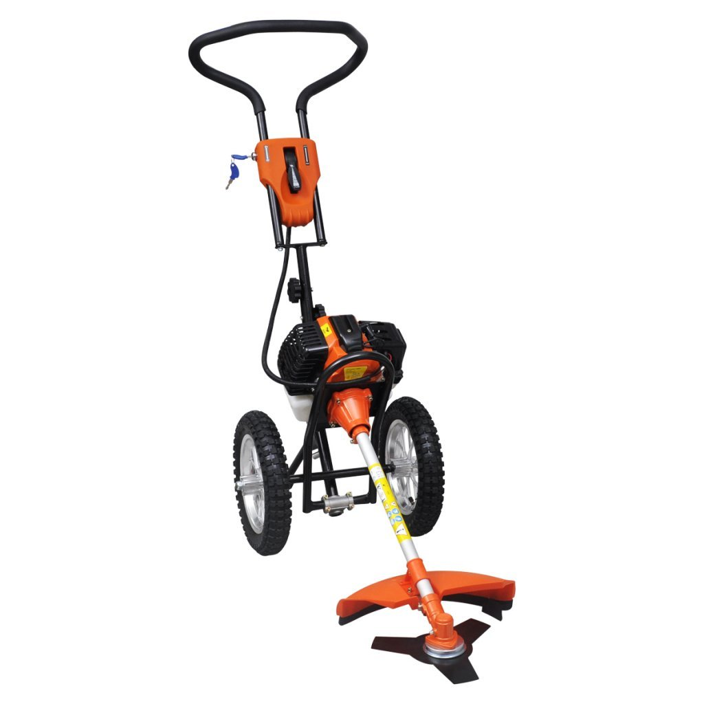 Ryobi-Desbrozadora con ruedas 2 tiempos 1, 9 KW: Amazon.es ...