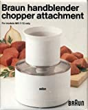 Braun Handblender Chopper Attachment (For Models MR 7/72 Only) For Sale