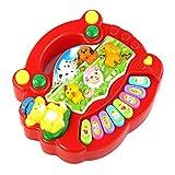 Piano Nouveau Populaire Bébé Animal Farm, Fami Musique Toy Developmental, Rouge