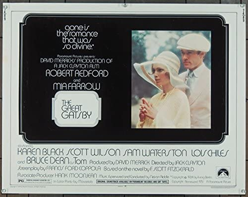 The Great Gatsby 1974 Original Movie Poster At Amazon S Entertainment Collectibles Store