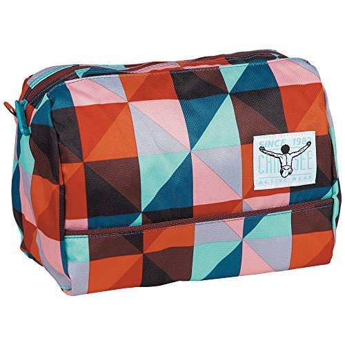 Chiemsee Kulturtasche Shower Bag, Magic Triangle Red, 26.5 x 16 x 18 cm, 7 Liter, 5021013