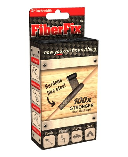 """FiberFix 2"""" Repair Tape Wrap - Fix Anything with Permanent Waterproof Repair Tape 100X Stronger than Duct Tape"""